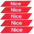 Светоотражающие наклейки Nice WA10 - 5 шт