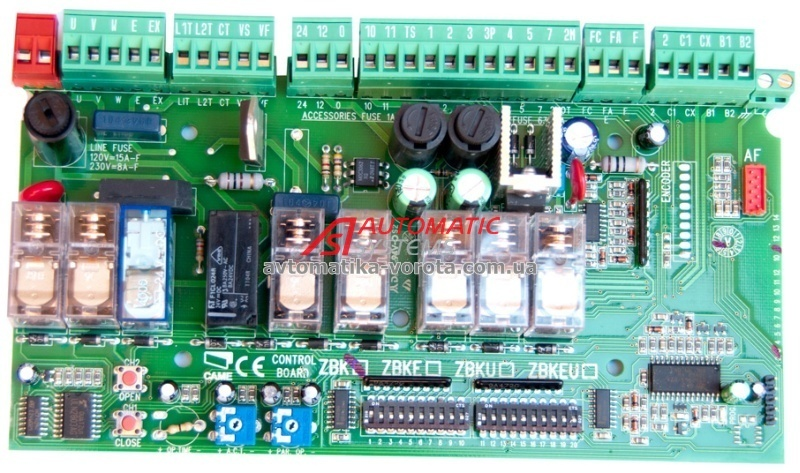 CAME ZBK CONTROL BOARD EPUB DOWNLOAD