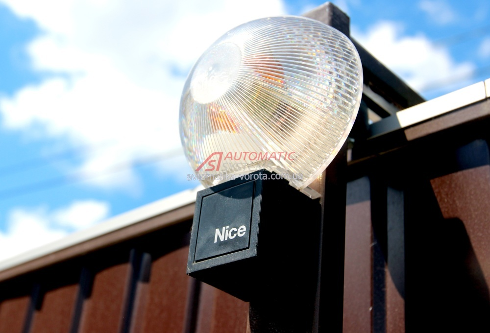 Сигнальная лампа для автоматических ворот своими руками 566